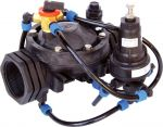 Pressure Reducing Valve w/ 24VAC Solenoid, Nylon - 2