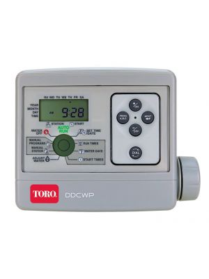 DDCWP® DC Controller, 4 Station Waterproof Battery Operated - 9V DC