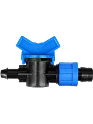 Starter Mini-Valve 10 mm Barb x 5/8 Tape Swivel