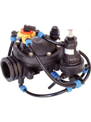 Pressure Reducing Valve w/ 24VAC Solenoid, Nylon - 1.5