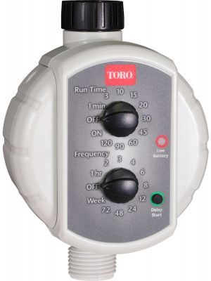 Battery-Operated Hose Timer