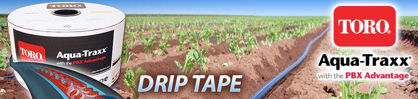 2 Toro Aqua-Traxx 0.45 GPM//100 000 12 EA5081245-200 Plastic 5//8 Drip Tape 8 mil